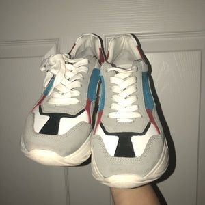 Multi color Steve Madden sneakers